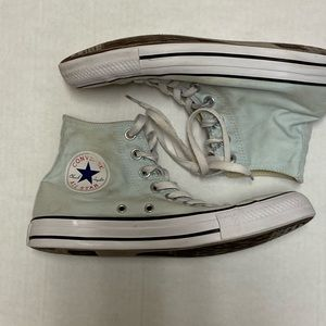 Chuck Taylor Allstar Hightop's Wm Sz 8.5/men's 6.5